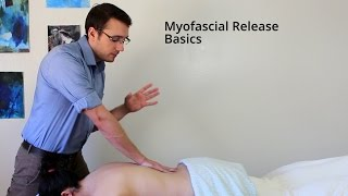 Massage Tutorial: Myofascial Release basics (sloth-style)