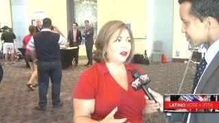 Rep. Sanchez talks history of Clinton as nominee