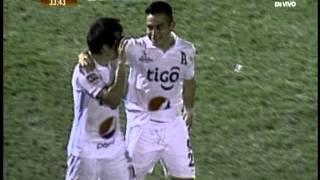 Gol de Fito Zelaya | C.D. Águila 1-1 Alianza F.C. | J5 Apertura 2015