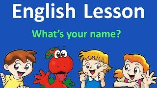 English Lesson 1 -  Hello. What