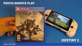 PSVita Remote Play: Destiny 2