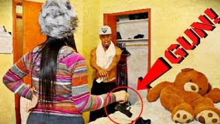 CHEATING PRANK ON GIRLFRIEND {GOES EXTREMELY VIOLENT!}