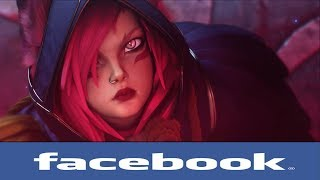 If league of legends Champions had Facebook #67 (Ionian Girls)