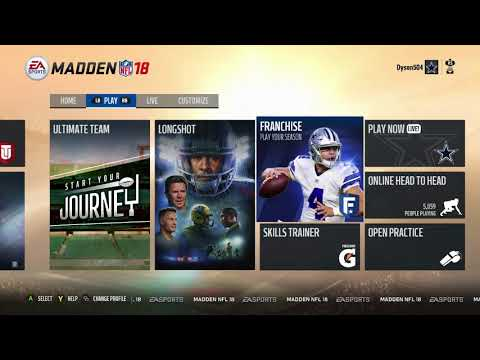 Xxx Mp4 How To Use Custom Roster In Madden 18 Downloaded Community Files 3gp Sex