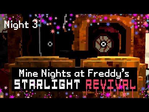 Xxx Mp4 MINE Nights At Freddy 39 S 5 Starlight Revival Night 3 Minecraft FNAF Roleplay 3gp Sex