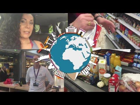 Veda9 Vlog Fazendo Compras no Mercado da Islândia