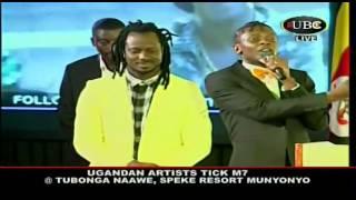 Ugandan music artists tick president Museveni in Tubonga nawe