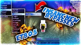 INSANE NEW BYPASSES **ETB 0.5 RELEASE** | Minecraft Hacking