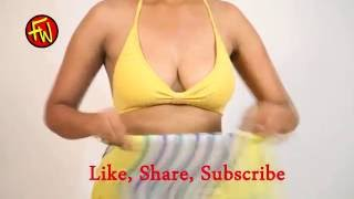 How To Wear Backless Saree Blouse 1