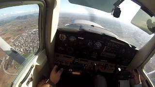 [HD60fps] C152: Mucho viento cruzado, traficos ULM y... gaviotas!!!