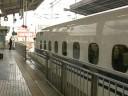 新幹線 N700系のぞみ 新大阪駅にて(2) Shinkansen Series N700 NOZOMI