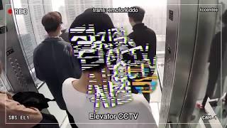 [ENGSUB] iKON's Sister Radio Elevator CCTV