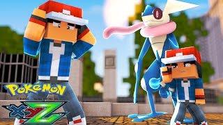 Minecraft: Pokemon X Y Z - FINALMENTE ENCONTREI O ASH-GRENINJA #3