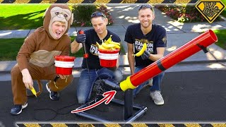 """Build a """"Rusty Rivets"""" Banana Launcher (#ad)"""