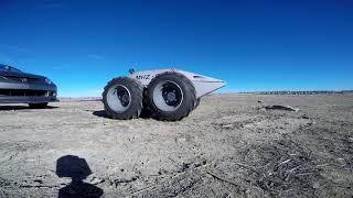 Robot Tows a 2500lb Car