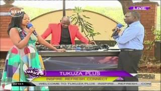KTN Tukuza presenters get emotional on air