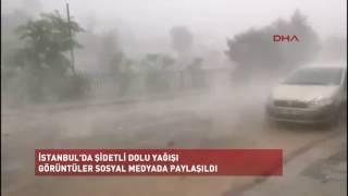 Haber | İşte dolu yağışının şiddeti