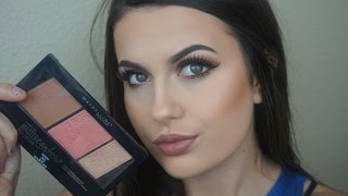Maybelline Master Contour Pallet Review + First Impression