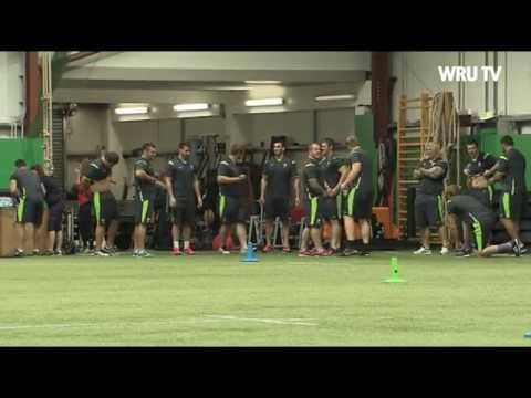 Team Wales first day in camp 2014   WRU TV