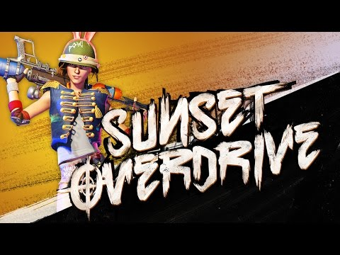 Sunset Overdrive All Cutscenes (Game Movie) 1080p HD