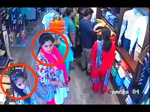 Best women Stealing Videos Compilation   Theft caught on camera India   CCTV Footage
