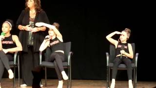 Dance Mom Girls dance to 'Girl Party' live in London and q&a