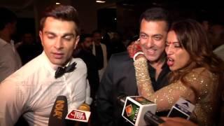 Salman Khan-Bipasha Basu FLIRT, Karan Singh Grover Laughs! | Wedding Reception