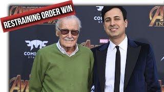Stan Lee wins restraining order against former Manager