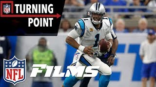 Cam Newton Hits Full Stride Against the Lions Defense (Week 5)   NFL Turning Point