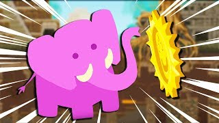 ELEPHANTASITC Temple MADNESS! - Ultimate Chicken Horse Gameplay - Elephantastic Update