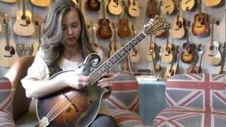 Weber Fine Acoustic Instruments: Sierra Hull performs Weber Octave in Nashville, TN