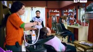 """كوميديا """"مى عز الدين"""" فى أول يوم لها فى محل الكوافير ... مسلسل """"دلع بنات"""" الحلقة الثانية"""
