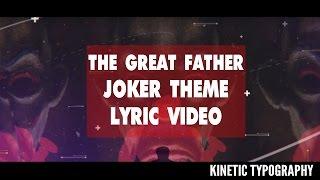 The Great Father Joker BGM Lyrical Music Video | Sushin Shyam | Psycho Music BGM