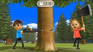 Wii Party - All 1 vs 1 Minigames| Cartoons Mee