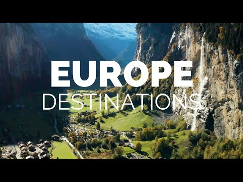 25 Most Beautiful Destinations in Europe Travel Video