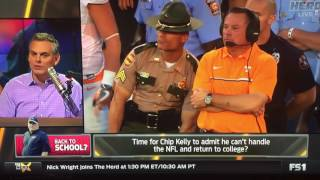 Colin Cowherd on Where Chip Kelly Should Coach Next