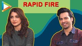 Varun Dhawan & Anushka Sharma's SUPER-LIT RAPID FIRE | Sui Dhaaga