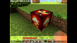 Minecraft Mod - Nuke and Napalm Bomb
