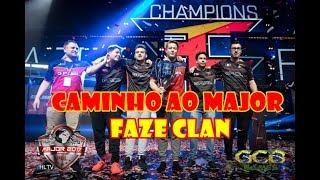 CS:GO - Caminho ao Major: FaZe Clan [PGL Major Krakow 2017]