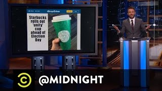 Starbucks Outrage - @midnight with Chris Hardwick