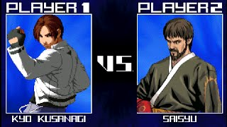 kof 2016 gameplay mugen kyo kusanagi vs saisyu