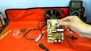 CDC Electronic Workshop - Switchmode power Supply Experiments & Modifications