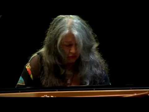 Martha Argerich Bach Partita No. 2 Verbier Festival 2008