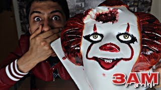 DO NOT ORDER IT MOVIE CAKE AT 3AM!! *OMG PENNYWISE FACE ON MY CAKE*