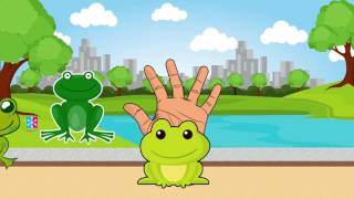 FROG The Animals Finger Family Song | TV Nursery Rhymes For Kids