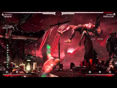 Mortal Kombat X | Tremor 70% no bar 3hits | naked Rihanna variation