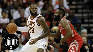 LeBron James or James Harden: Who has your vote for NBA MVP right now?   The Jump   ESPN