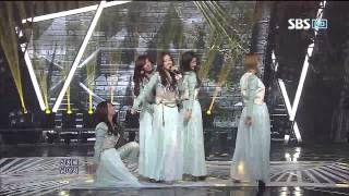 4minute [Volume Up] @SBS Inkigayo 인기가요 20120520