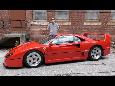 Here s Why the Ferrari F40 Is Worth 1.3 Million