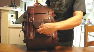 Leather Backpack video